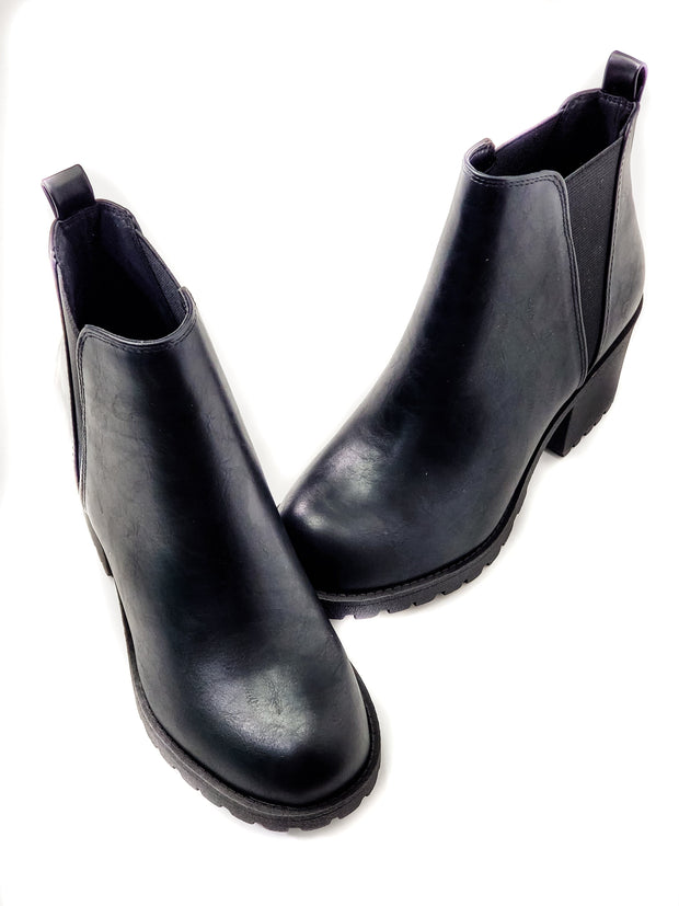 Origoma Thick Heeled Chealsea Boots