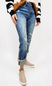 Judy Blue - The Stephy Destroyed Relax Fit Jeans (0-24W)