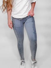 Easel - Washed Sweatpants Leggings