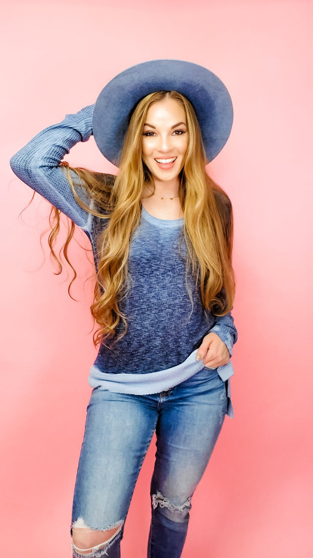 Comfy Soft Cotton Long Sleeve Top