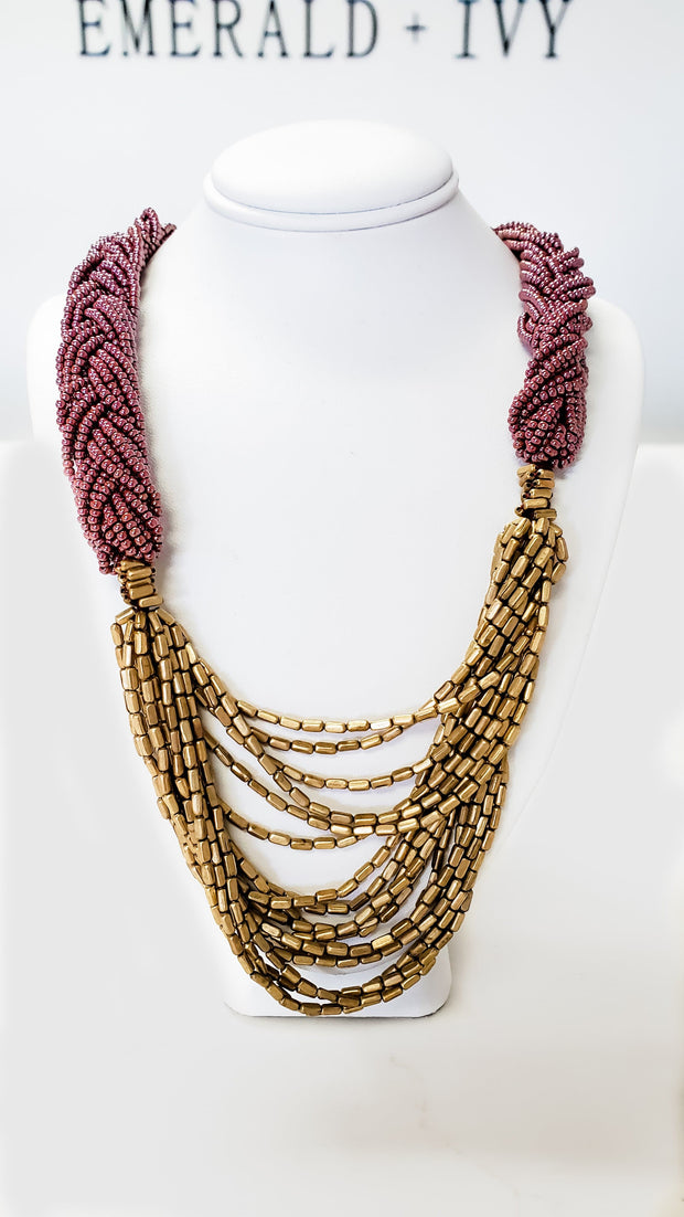 The Braided Hema Necklace