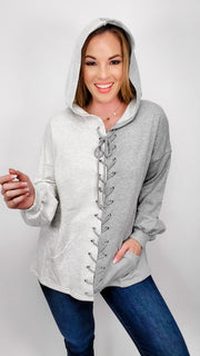 Easel - Best of Both World Hooded Pullover Sweater