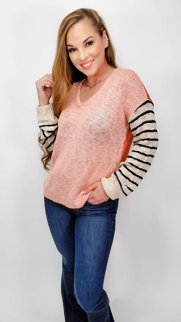 Hello Spring Light Knit Sweater