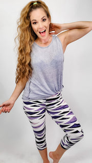 Soft and Comfortable Capri Leggings (S-2XL)