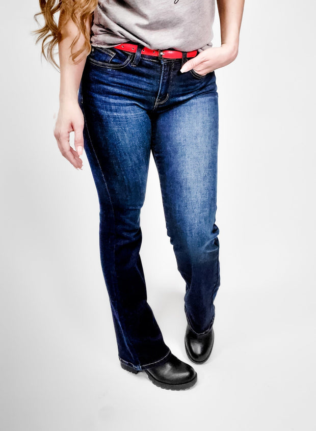 Judy Blue - Dark Side of the Moon Bootcut Jeans (0-24W)