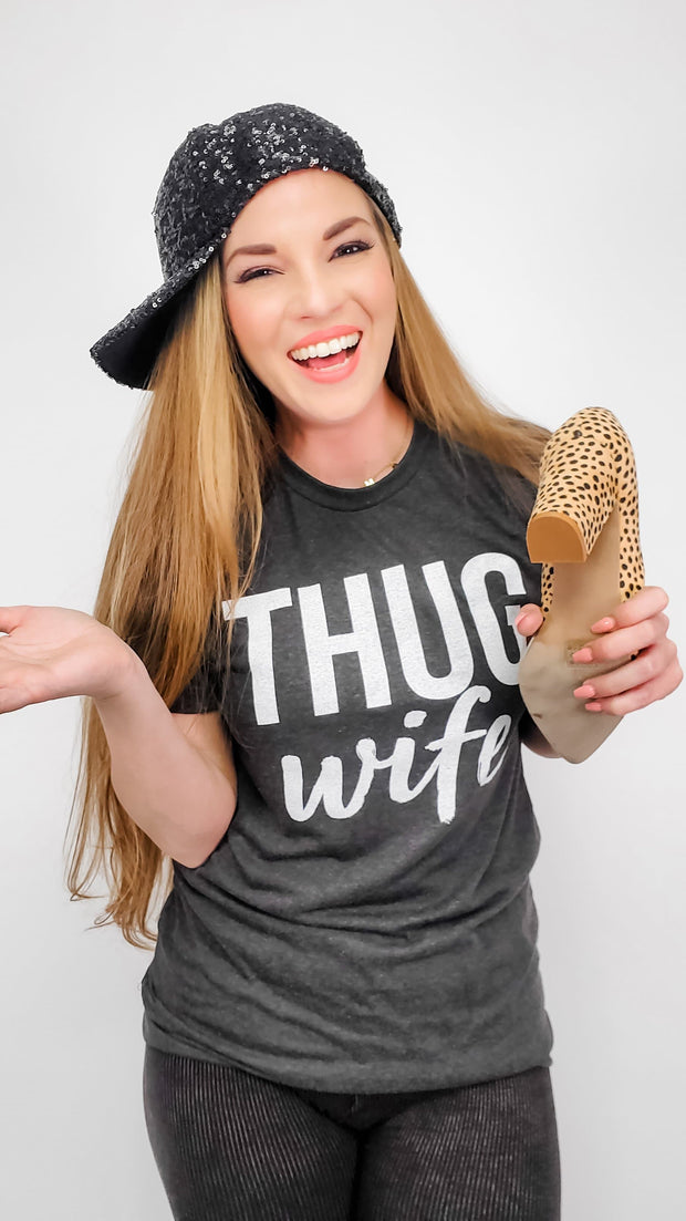 Thug Wife Graphic Tee (S-3XL)