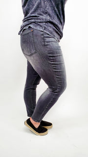 Judy Blue - Midnight Pajama High Waist Skinny Jeans (0-24W)