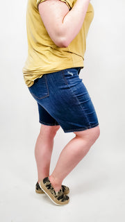 Judy Blue - Relaxed Bermuda Shorts (S-3XL)