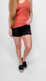 Judy Blue - Black Cuffed Shorts