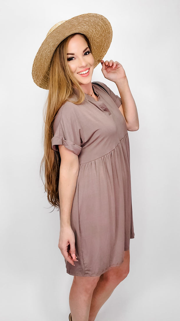 Baby Doll Shirt Dress