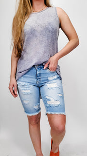 Judy Blue - Light and Airy High RIse Bermuda Shorts