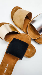 Rumor Slide on Sandal