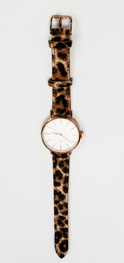 Animal Print Watch