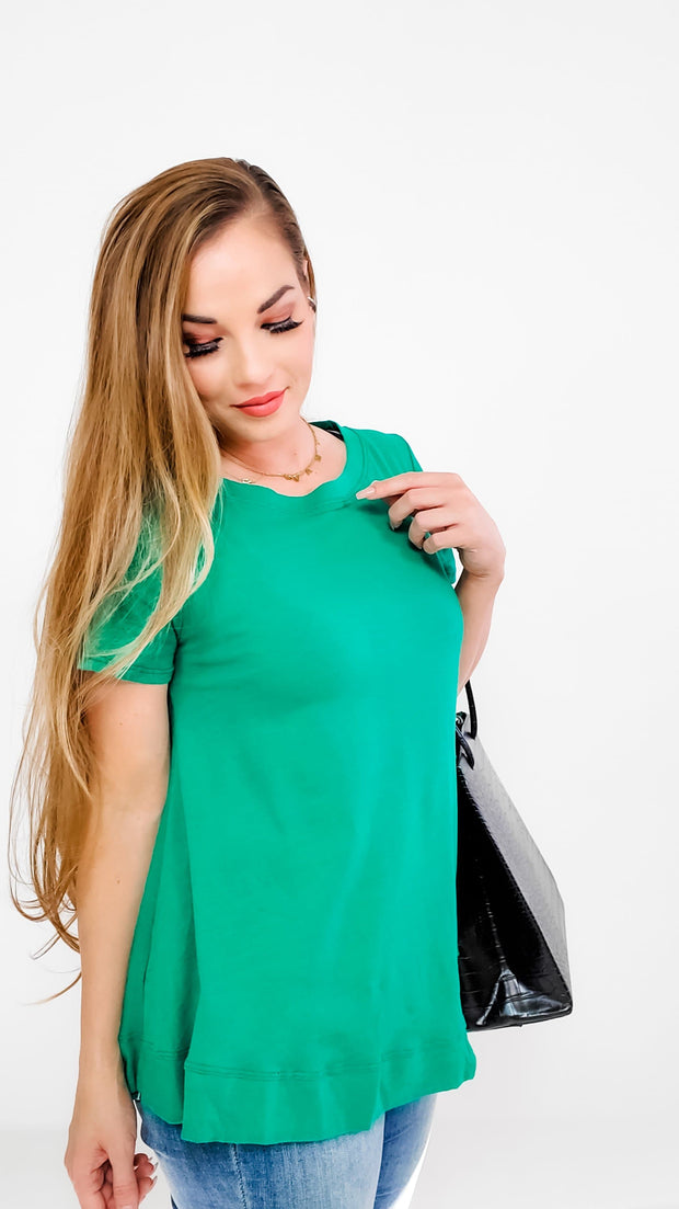 Cotton Casual Short Sleeve Top (S-3XL)