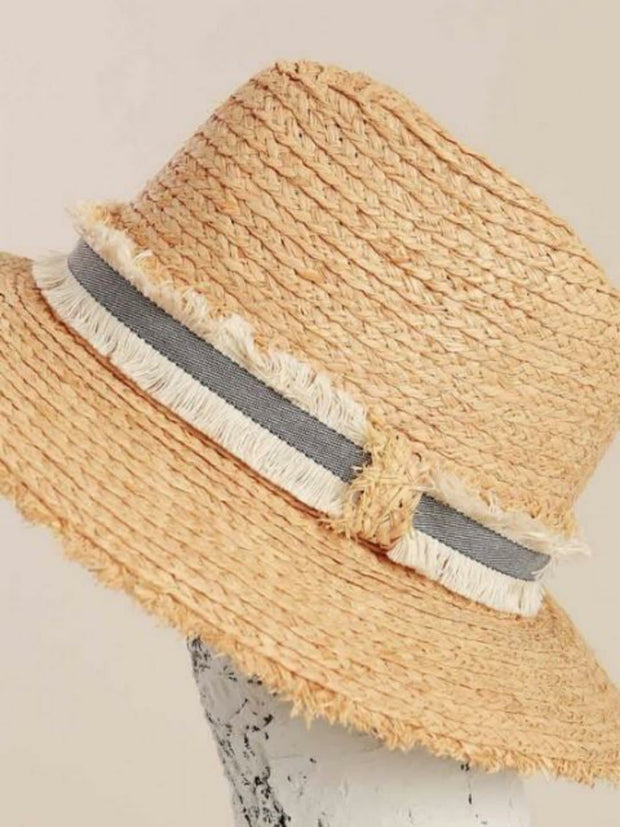 Pol - Raw Edge Rope Detailing Hat