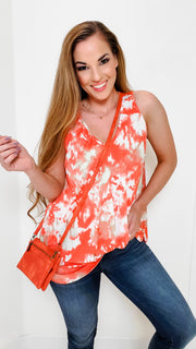 Tie Dye Swing Tunic Top (S-3XL)