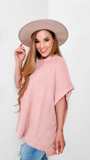 Loose Fit Round Neck Top (S-3XL)