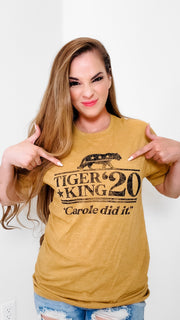 Tiger King 2020 Graphic Tee (S-3XL)