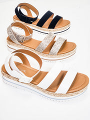 Blaze for Days - Double Strap Sandals