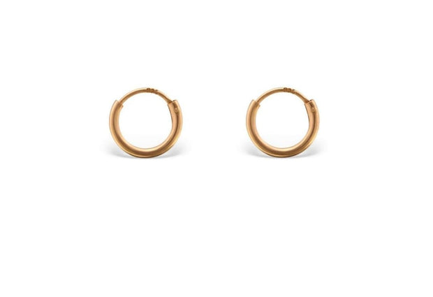 Tiny Minimal Hoops Huggies Earrings