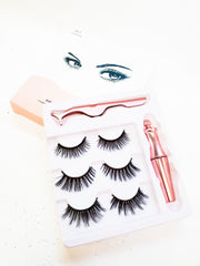 3 Piece Magnetic Lashes - M1 Series