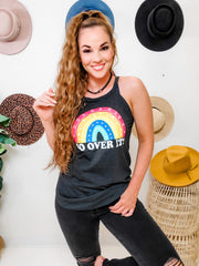 So Over It Rainbow Rocker Tank Top (S-3XL)