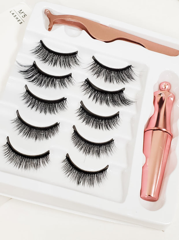 5 Piece Magnetic Lashes