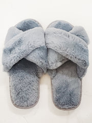 Super Soft Furry Sandal Slippers