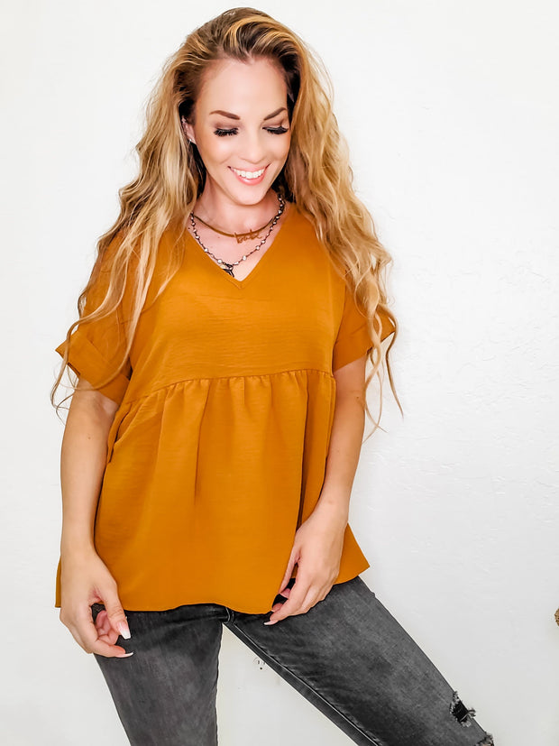 V-Neck Top (S-2XL)