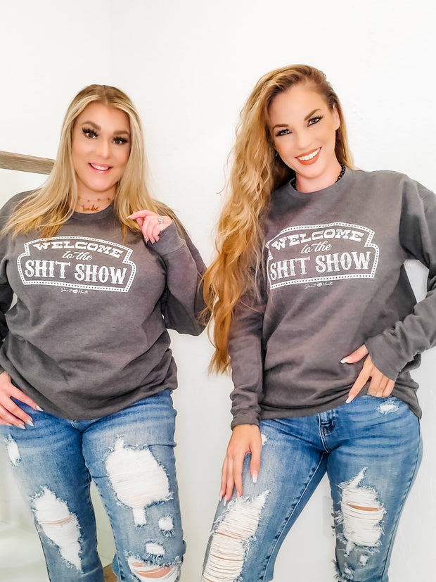 Shit Show Graphic Sweater (S-3XL)