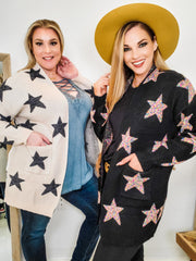 Star Sweater Cardigan (S-2XL)