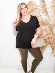 Doorbuster - BOMB.COM Microfiber Full Length Leggings (S-3XL)