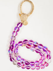 Karli Buxton - Mystic Quartz Attachment with Gold Pave Clasp Necklace