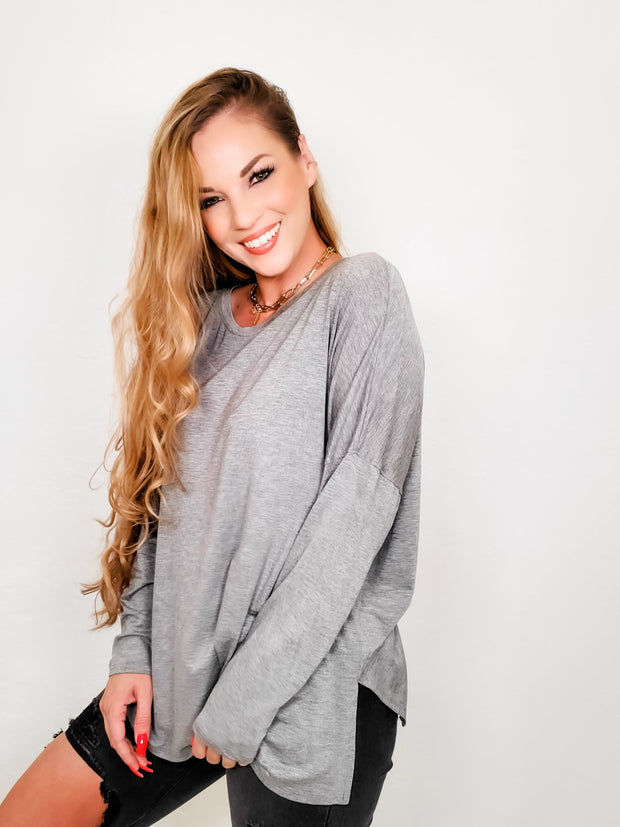 Easel - Cadence Long Sleeve Top