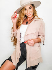 Easel - Long Sleeve Open Jacket