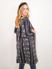 Aztec Design Cardigan