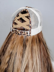 Criss-Cross Ponytail Baseball Caps