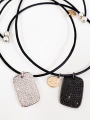 "Karli Buxton - 16"" Magnetic Dainties Leather Necklace"