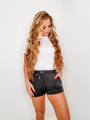 Mineral Wash French Terry Lounge Shorts