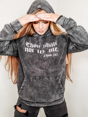 Thou Shall Not Try Me Graphic Vintage Sweater (S-3XL)