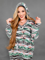 Restock IS HERE - Pol - Stripe A Pose With A Smile Hoodie Sweater