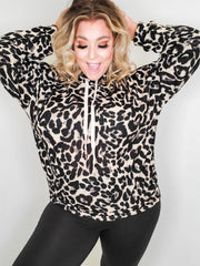 Long Sleeve Leopard Print Hoodie Sweater (S-3XL)