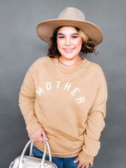 Mother Arch Graphic CW Sweater (S-3XL)