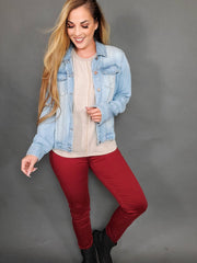Judy Blue - Happy Place High Waist Skinny Jeans (0-24W)