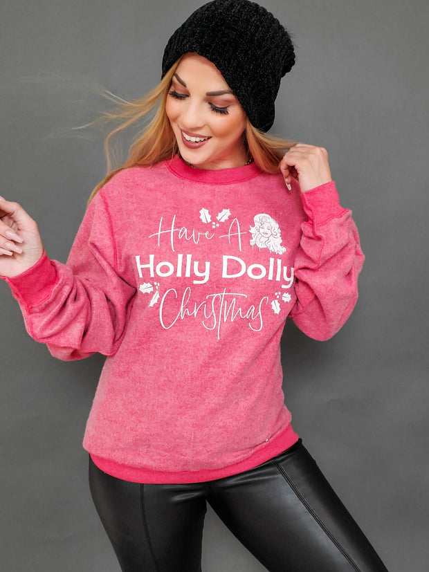 Holly Dolly Graphic Top (S-3XL)