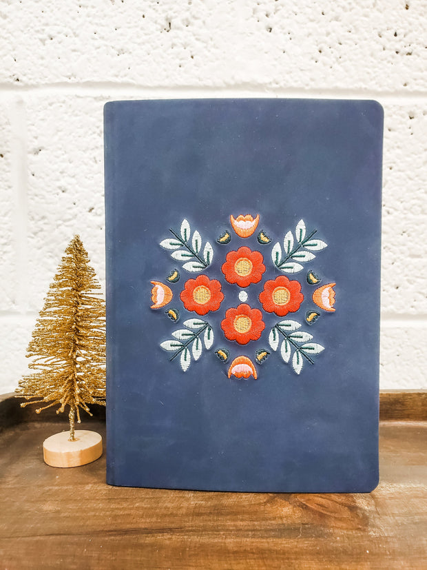 Evelyn Blue Cover Journal