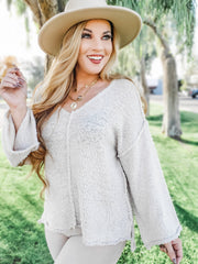 Long Sleeve Knit Sweater (S-3XL)