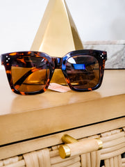 Bash Block Frame Sunglasses