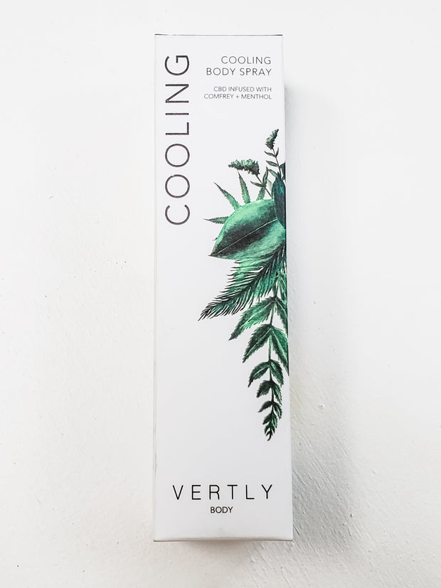 Vertly Cooling Body Spray
