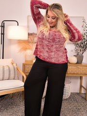 Wide Leg Lounge Pants (S-3XL)